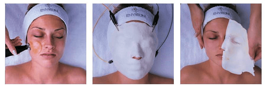 Environ Facial in stages
